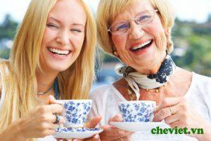 Uống trà giúp chắc xương