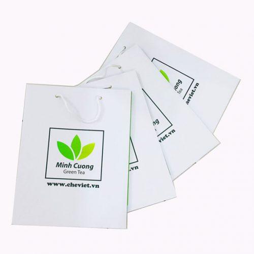 Túi giấy Minh Cường green tea