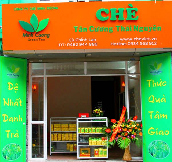 Thương hiệu Chè Minh Cường - Minh Cường Green tea