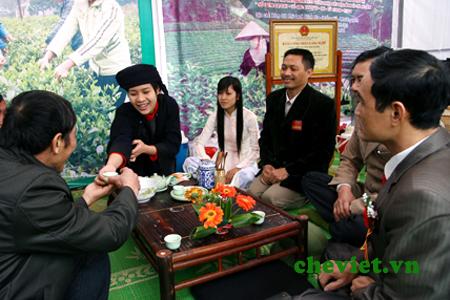 Chè Thái Nguyên có nhiều nét độc đáo