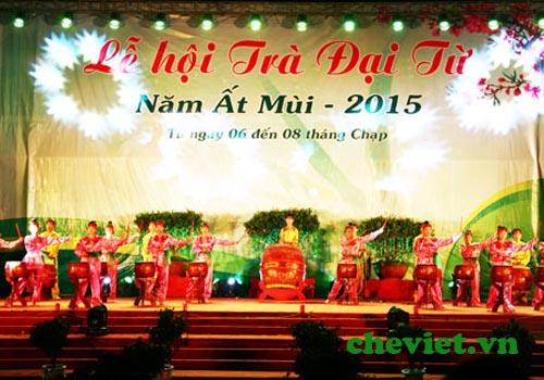 Lễ hội trà Đại từ Thái Nguyên