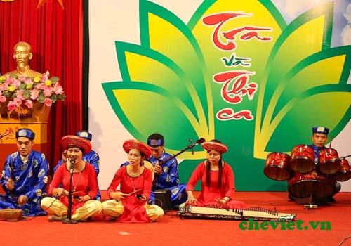 lễ hội trà Thái Nguyên năm nay