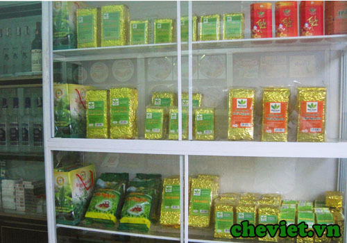 Cửa hàng Chè Thái Nguyên tại Hà Đông