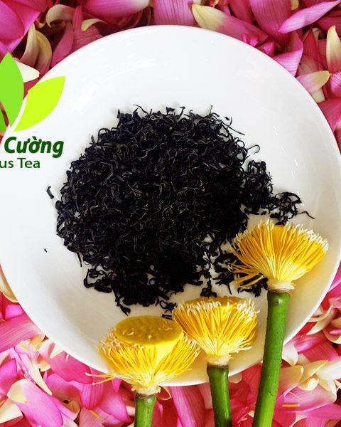 Hương thơm ngan ngát của sen quyện với vị đậm đà của trà